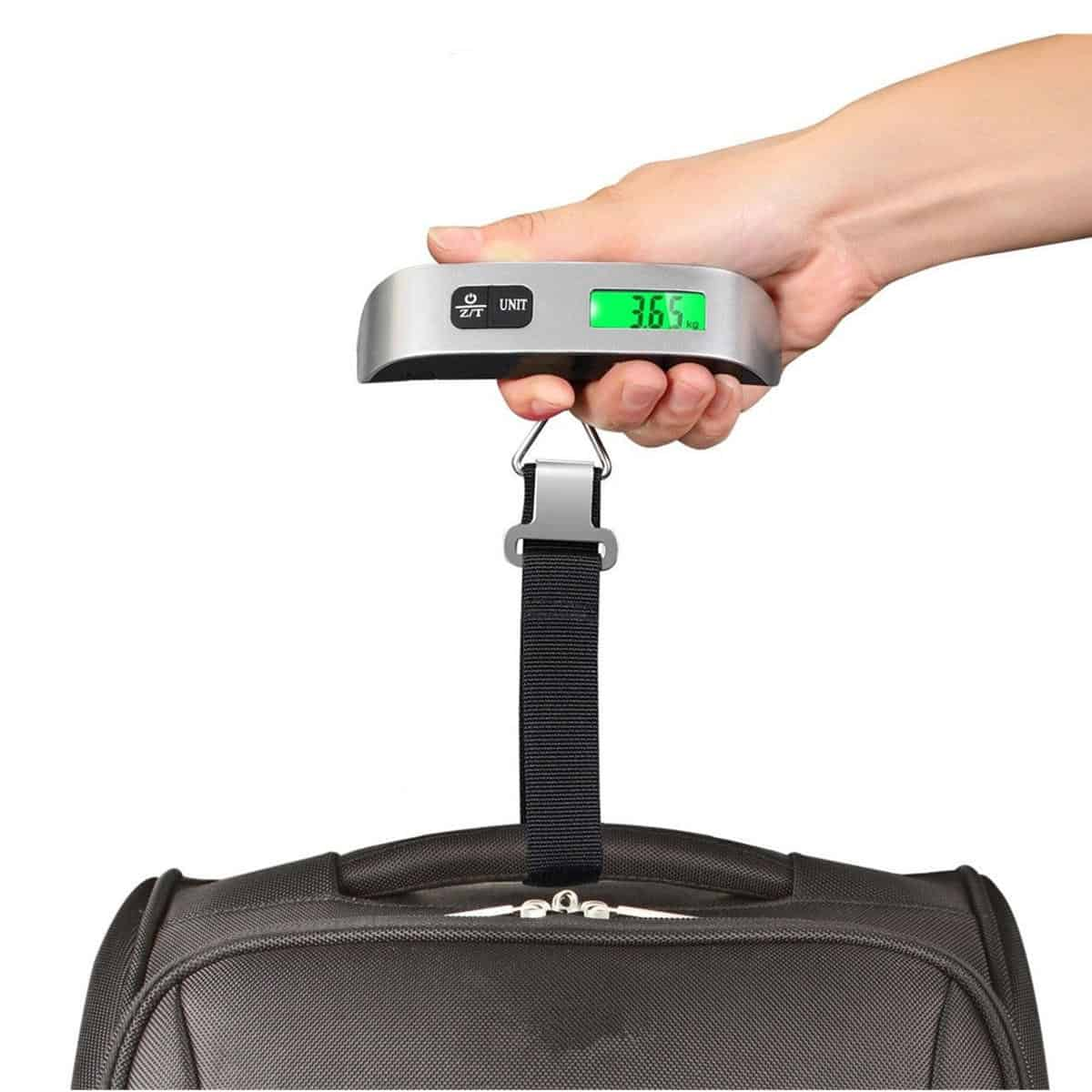 Digital Luggage Weighing Scale & Luggage Organizer For Your Travel